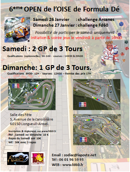 OPEN de l'oise de FD - 26 & 27 Janvier 2019 OPEN2019__final2